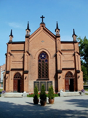 Finlayson kirkko Tampere