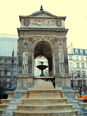 Fontaine des Innocents in Paris
