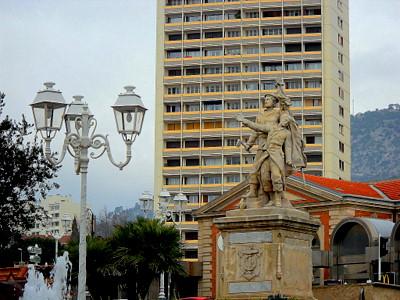 Gare de Toulon statue France