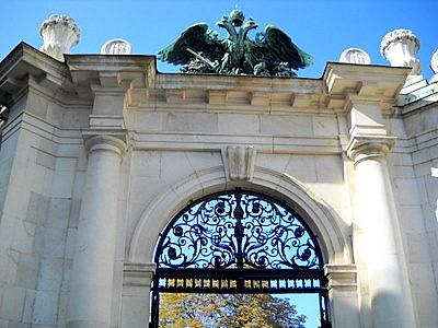 Habsburg eagle Vienna Austria