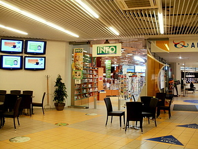 Info kirjakauppa Hämeenlinna
