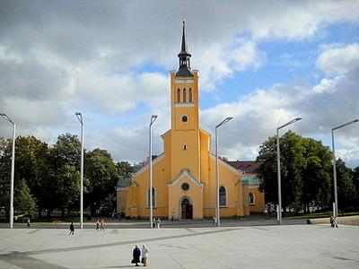 Johanneksen kirkko Tallinna