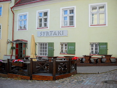 Kreikkalainen ravintola Syrtaki Tallinna