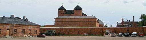Linnakasarmi Hämeen linna Hämeenlinna