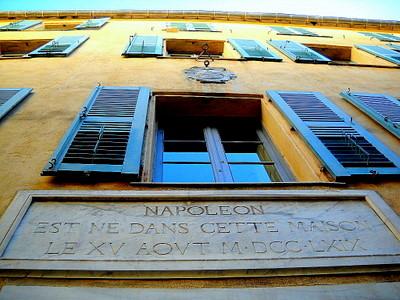 Maison natale de Napoleon Ajaccio France