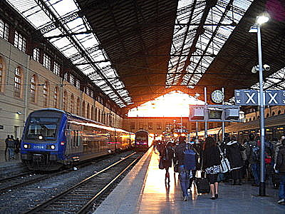 Marseille train station
