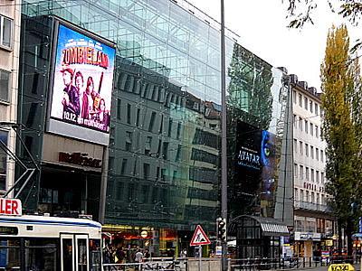 Mathaser shopping center Munich Germany