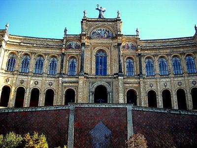 Maximilianeum Facade Munich Germany