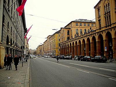 Maximilianstrasse Munich Germany
