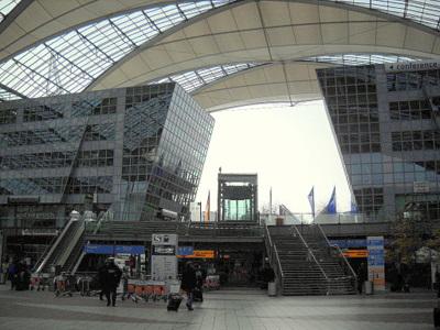 Munchen lentokenttä