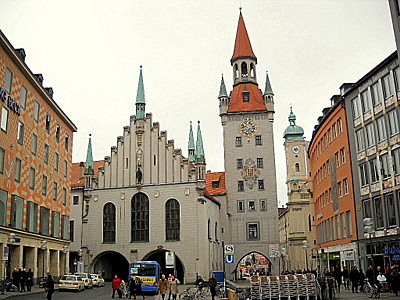 Alte rathaus Munich Germany