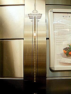 Näsinneula Tampere hissi yksityiskohta