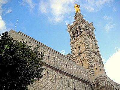 Notre Dame de la Garde tower