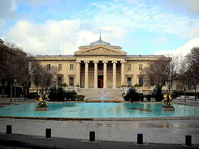 Palais de Justice in Marseille France