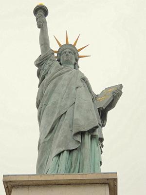Paris Statue of Liberty France