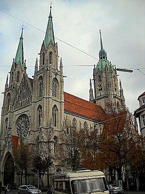 Paulskirche Munich Germany