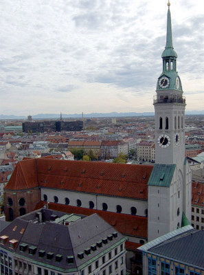 Peterskirche Munich Germany