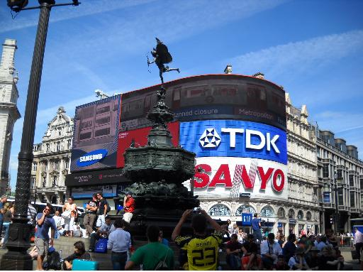 Piccadilly Circus Eros London
