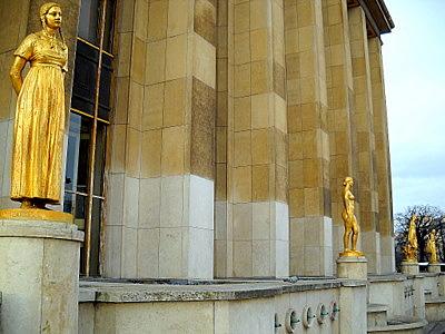 Place des Droits de l'Homme Palais Chaillot Paris France