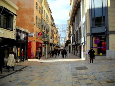 Rue Jean Jaures Toulon France