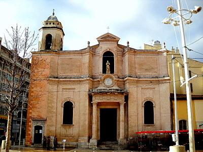 Saint Francoise de Paule church Toulon France