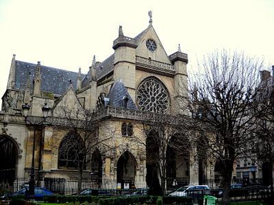 Saint Germain l'Auxerrois Paris France