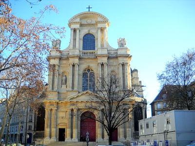Saint Gervais et Saint Protais Paris France