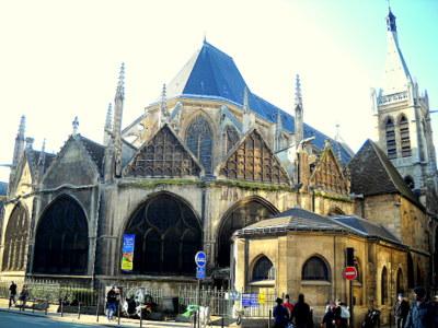 Saint Severin church Paris France