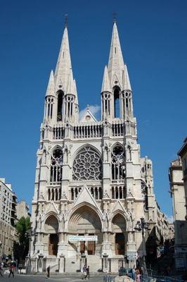 Saint Vincent de Paul church in Marseille France
