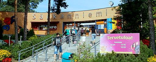 Särkänniemen huvipuiston sisäänkäynti Tampere