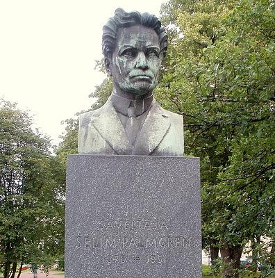 Selim Palmgren patsas Pori