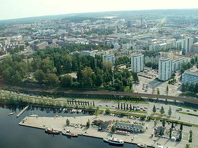 Tampere Näsinneula näkymä