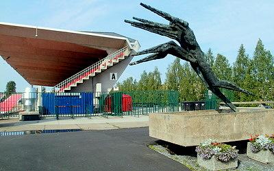 Tampereen stadion Vesieste patsas Tampere