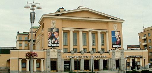 Tampereen teatterin päärakennus