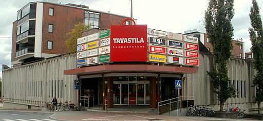 Ostoskeskus Tavastila Hämeenlinna