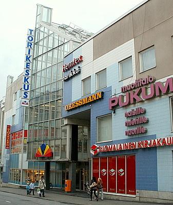 Torikeskus Väinönkatu Jyväskylä