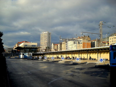 Toulon bus station