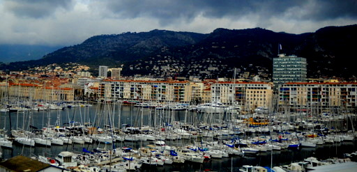 Toulon harbor France