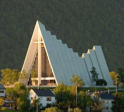 Tromson jäämerenkatedraali Norja