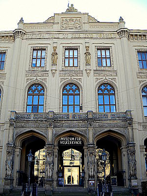 Valtion kansatieteen museo Munchen
