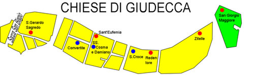 Venice churches in Giudecca
