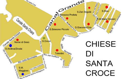 Venice churches in Santa Croce