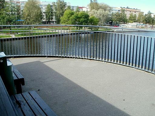 Viipurintien silta näköalauloke Hämeenlinna