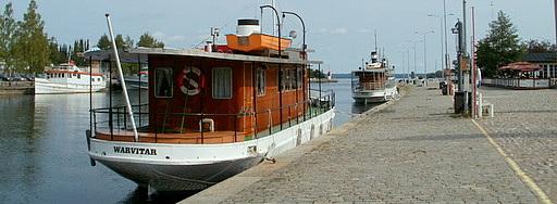 Warvitar Mustalahden satama Tampere