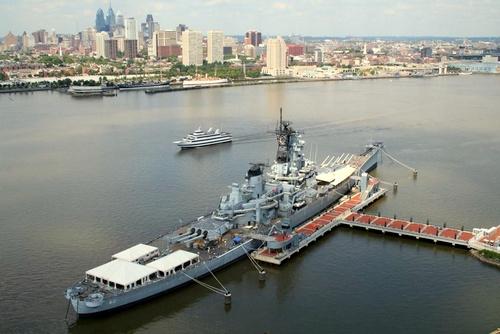 Battleship New Jersey Philadelphia Yhdysvallat.