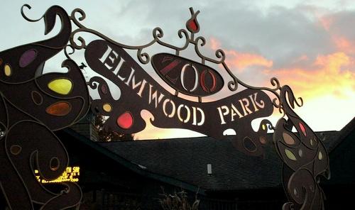 Elmwood Park Zoo Philadelphia Yhdysvallat.