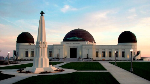 Griffith Observatory Los Angeles Yhdysvallat.