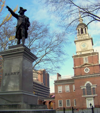 Independence Hall Philadelphia Yhdysvallat.
