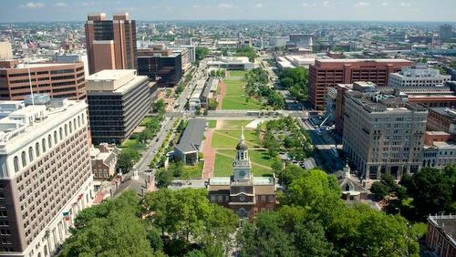 Independence National Historical Park Philadelphia Yhdysvallat.