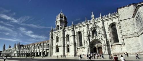 Mosteiro dos Jeronimos luostari.